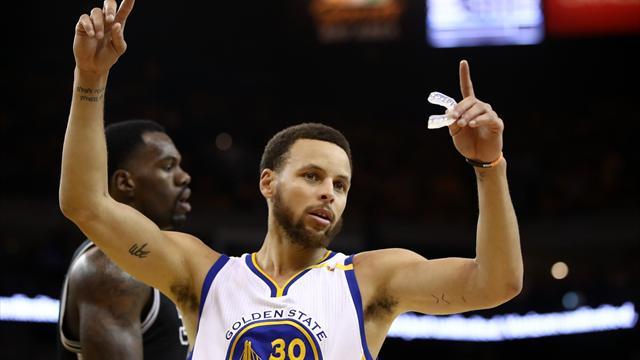 Curry führt Golden State zum Sieg - kuriose Polizei-Kontrolle für Warriors-Coach
