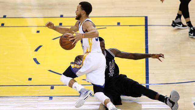 Curry a littéralement humilié Dedmon : Le top 5 de la nuit