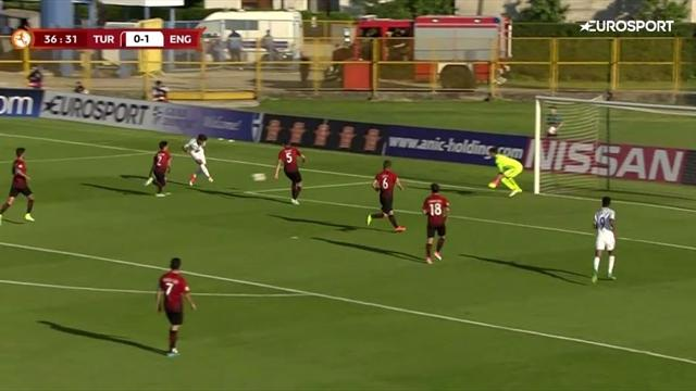 Feines Füßchen: So schoss der ManCity-Youngster England ins EM-Finale