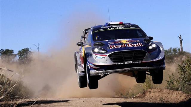 Piloto Benito Guerra con ánimo de triunfar en Rally de Portugal