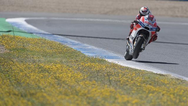 Rear brake use helping Lorenzo on Ducati