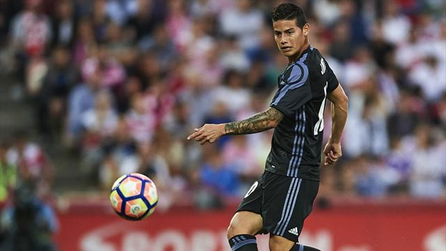 Rodriguez left out of Real squad for Celta match, Ronaldo and banned Nacho included