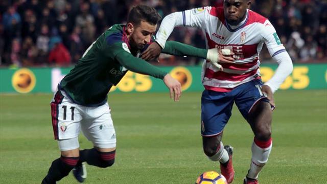 Boga no entrena pero podría llegar al partido contra el Espanyol