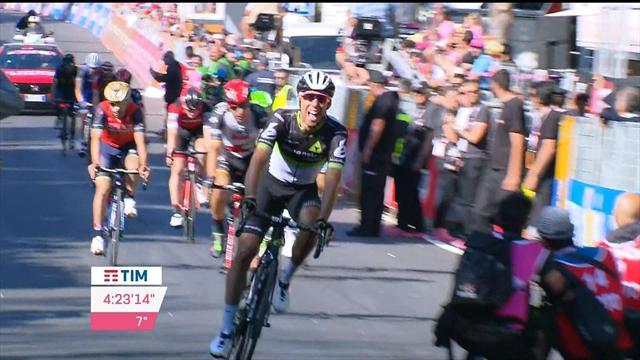 Последний километр 11-го этапа «Джиро», на котором звание героя досталось Фраиле