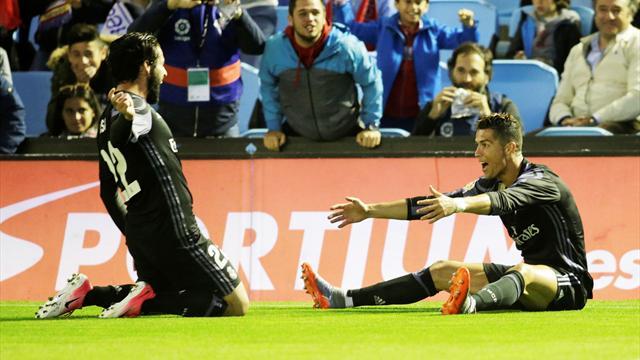 4-1 al Celta e record per Ronaldo: al Real Madrid basta un punto per essere Campione di Spagna