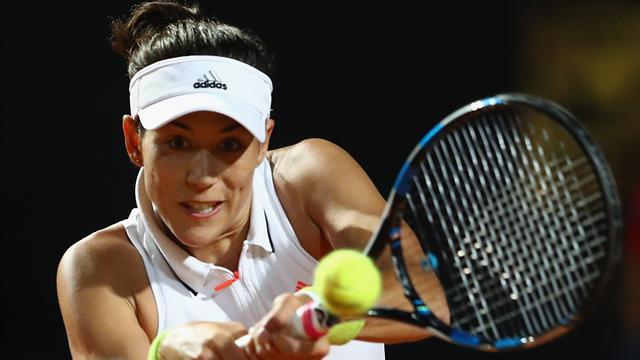 Muguruza domine Venus Williams en quart