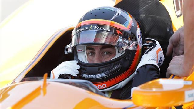 Alonso, cuarto en tercer día de ensayos