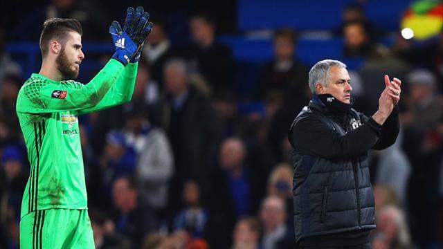 Pour Mourinho, De Gea est loin d'être parti de Manchester United