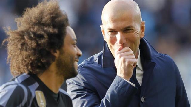 Real Madrid quedó como líder tras vencer al Celta