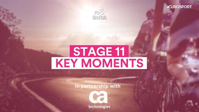 Giro d'Italia Stage 11: Key Moments