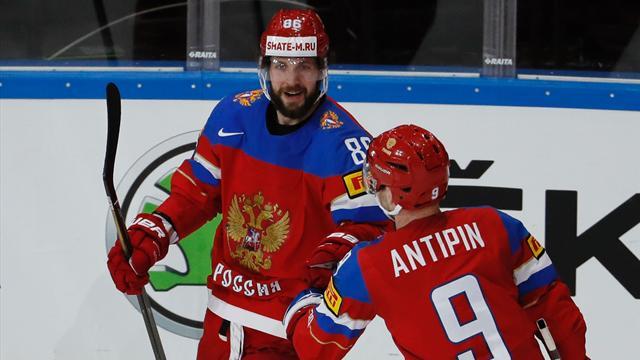 Сборная России победила Чехию и вышла в полуфинал