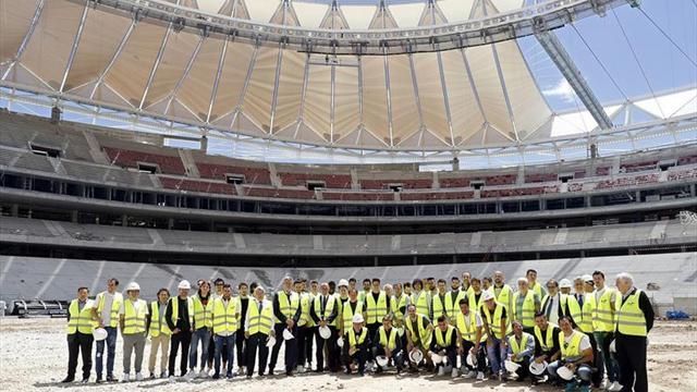 (Video) Así será el nuevo estadio del Atlético de Madrid