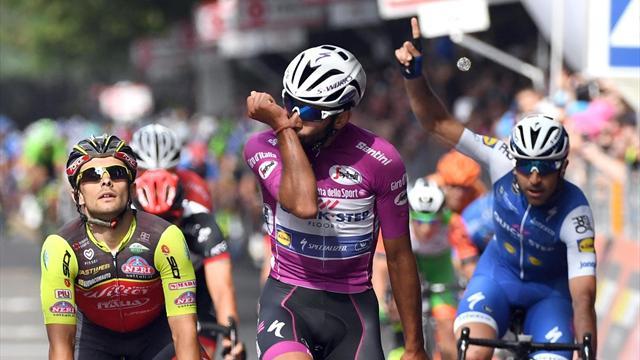 Giro 2017: Gaviria sigue sin rival y suma su tercera victoria