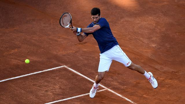 Tennis: Djokovic va en quarts du Masters 1000 de Rome