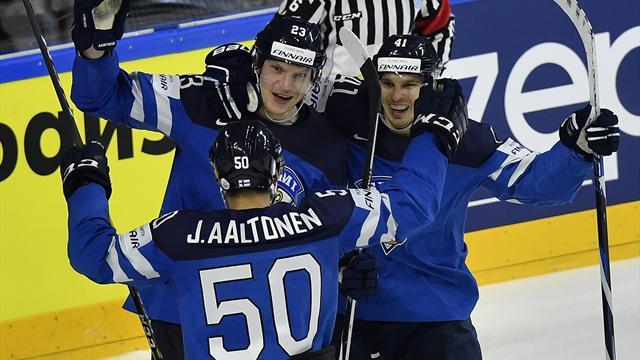 Finland til semifinale etter sjokkseier
