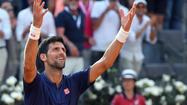 Del Potro enfrentará a Djokovic en cuartos de final — Partidazo en Roma
