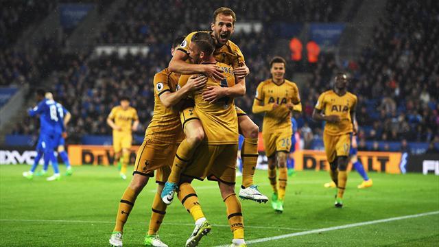Tottenham, vendetta servita: poker di Kane e Leicester massacrato 6-1