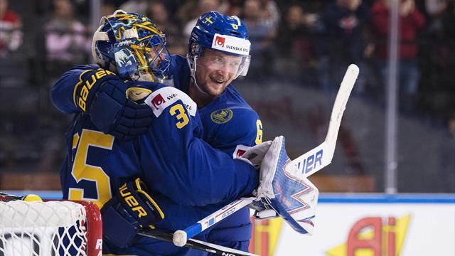 Швеция вышла в полуфинал и встретится с Финляндией