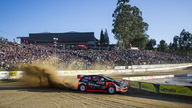 Ostberg and Neuville share Portugal lead