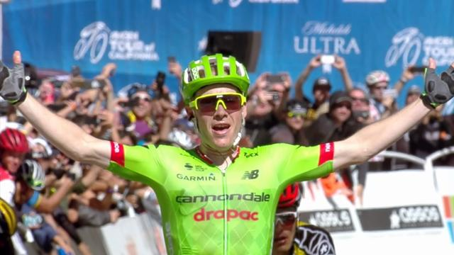 Talansky sprints to 'famous win' on Stage 5 in Tour of California