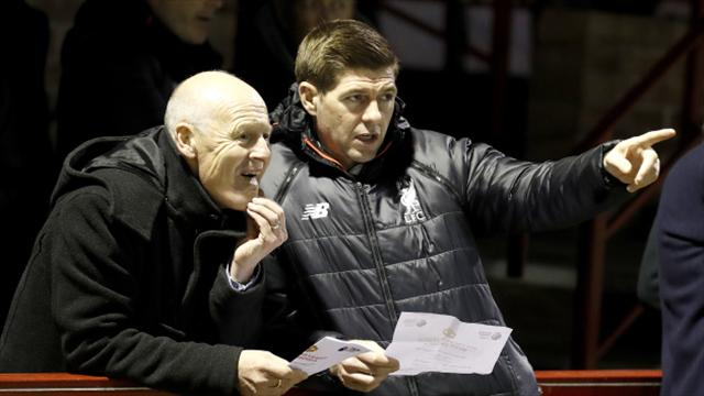Jurgen Klopp would love Steven Gerrard to be his Liverpool successor
