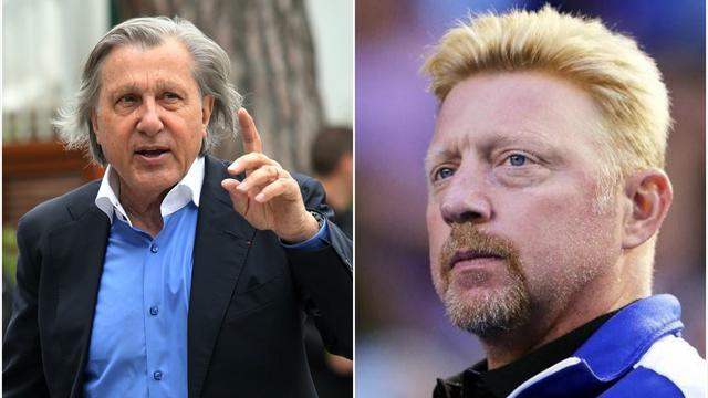 Boris Becker on Ilie Nastase: 'He is NOT a racist!'