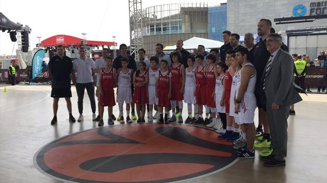 Final Four heyecanı öncesi efsaneler İstanbul'da buluştu