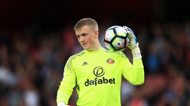 David Moyes: Sunderland will only accept 'really big' offers for Jordan Pickford