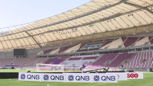 Katar eröffnet erstes WM-Stadion 2022 - mit Klimaanlage!