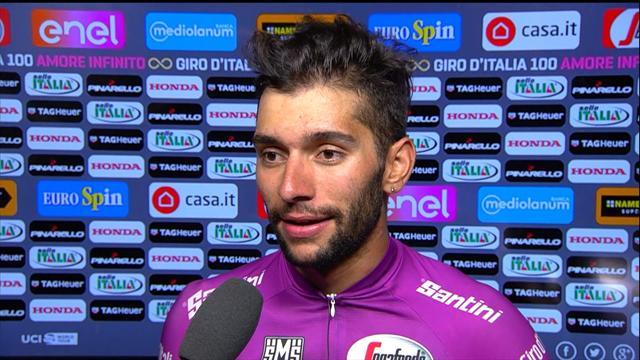 """Gaviria im Siegerinterview: """"Ein sehr schwieriger Sprint, es war anders"""""""