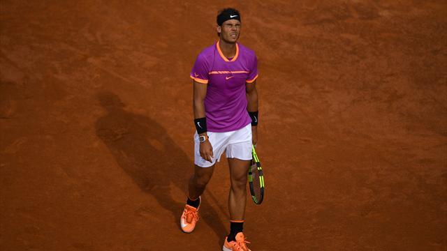 Masters 1.000 Roma 2017, Thiem-Nadal: Sorprendido 6-4 y 6-3