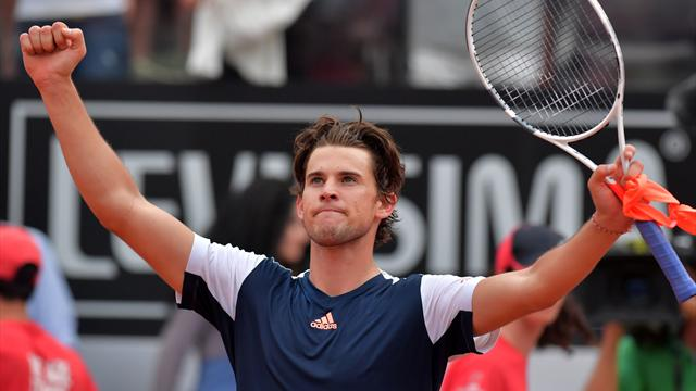 Thiem shocks Nadal on Rome clay - is French Open now a two-horse race?