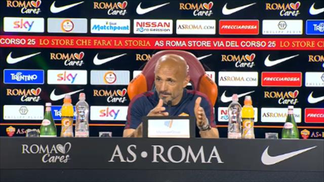 """Spalletti non farà """"regali"""" a Totti: """"Devo fare delle scelte"""""""