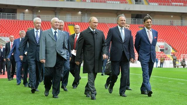 Путин объявил благодарность Федуну за заслуги в развитии культуры