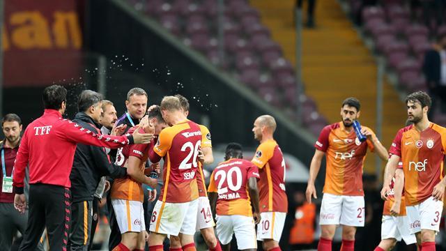 Galatasaray üçüncülük için bastırıyor