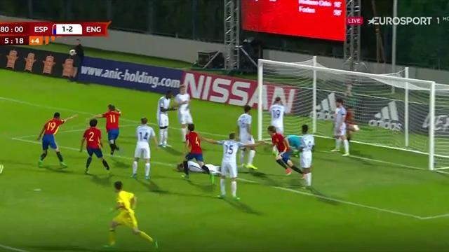 Europeo Sub17, España-Inglaterra: El gol en el último segundo que forzó los penaltis