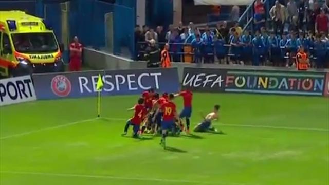 Сборная Испании выиграла юношеское Евро