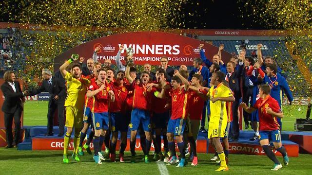Au bout du suspens, l'Espagne remporte l'Euro des moins de 17 ans