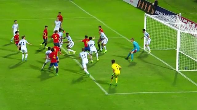 U17-EM - Finale: 6. Minute der Nachspielzeit! Final-Wahnsinn nimmt seinen Lauf