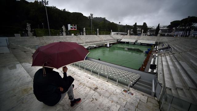 La pluie reporte le débat entre Djokovic et Del Potro à samedi