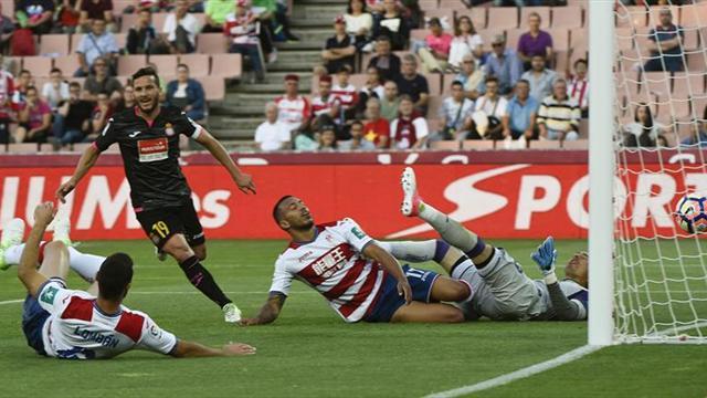 1-2. El Espanyol también gana a un Granada que acaba la Liga como colista