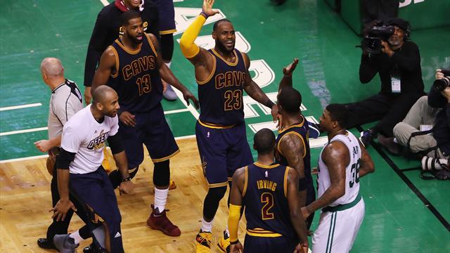 +44 : Les Cavaliers humilientles Celtics