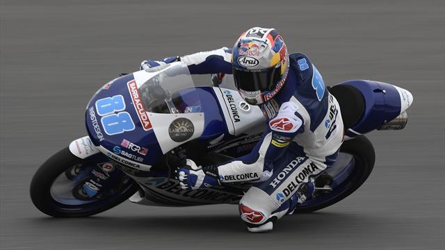 Moto3 : Martin en pole position pour la septième fois de la saison