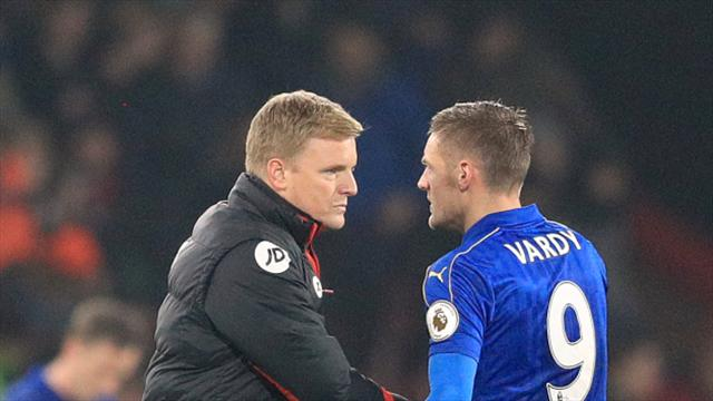 Eddie Howe impressed by Craig Shakespeare at Leicester