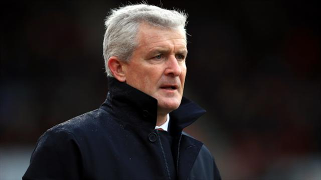 Mark Hughes challenges Stoke to stand up to Premier League elite