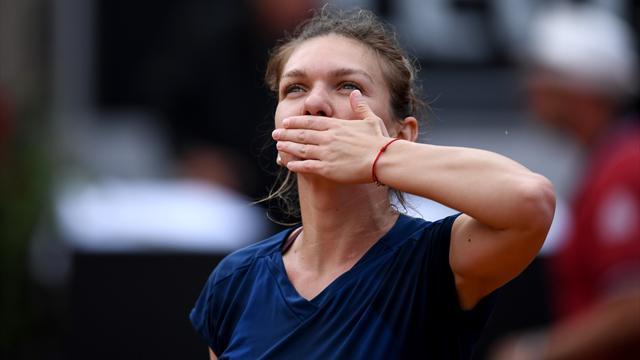 Халеп стала первой финалисткой турнира