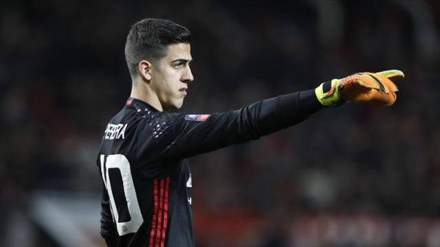 Man Utd's Joel Pereira, 20, keen to repay Jose Mourinho for faith shown in him