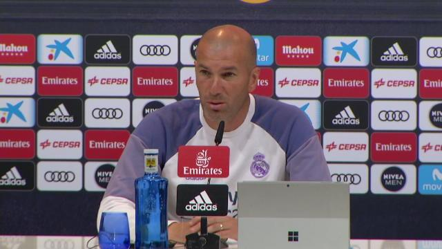 """Zidane : """"Notre motivation est inexplicable"""""""