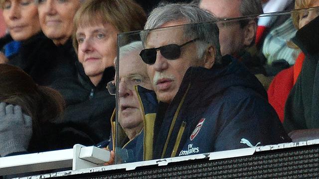 The Telegraph: Кронке отказался продавать контрольный пакет «Арсенала» Усманову