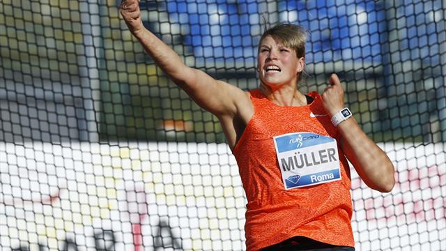 Müller gewinnt Diskus-Wettbewerb - Molitor im Speerwurf Zweite